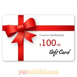 Custom Bobbleheads: Gift Cards