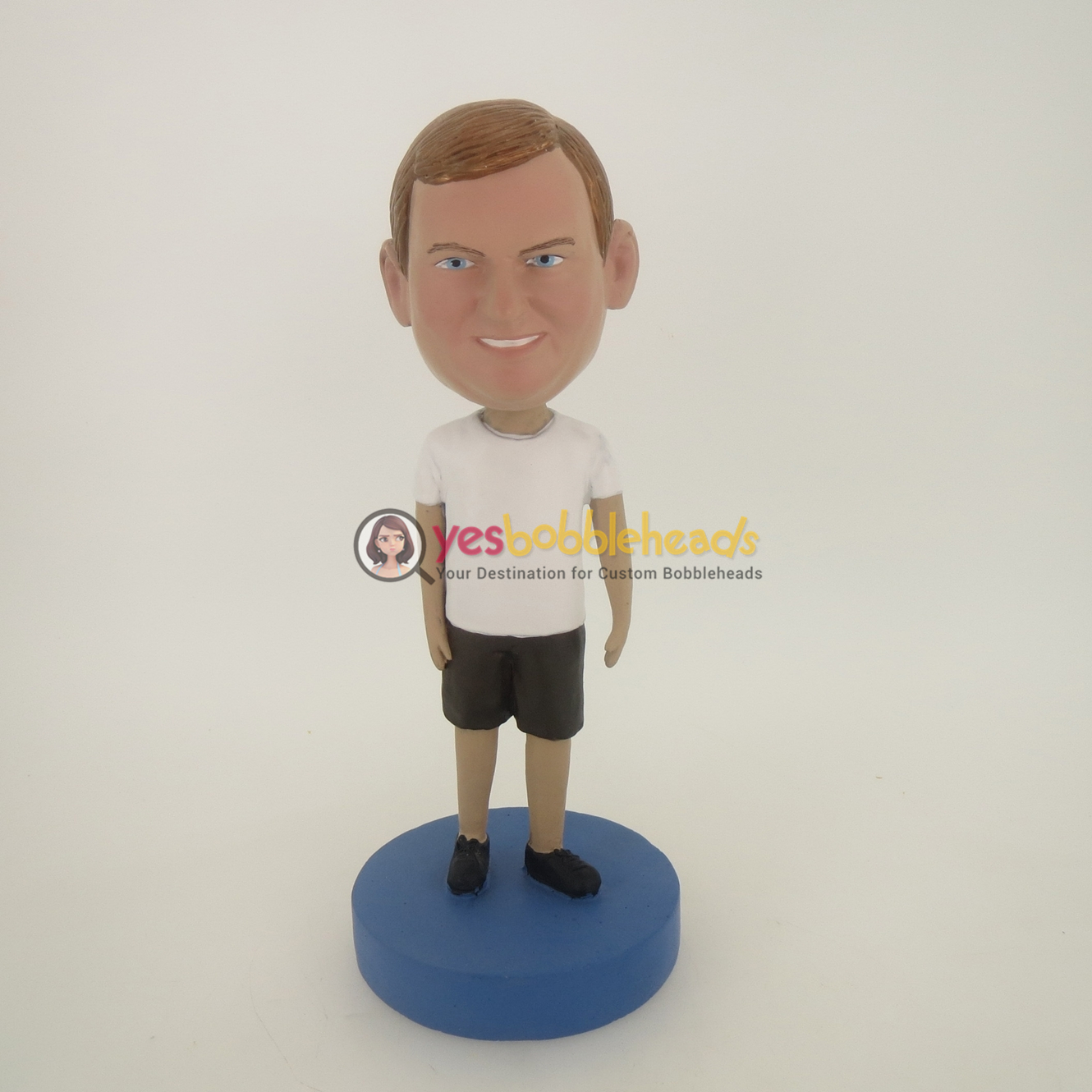Picture of Custom Bobblehead Doll: Big Boy Ready For Sports
