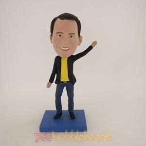 Picture of Custom Bobblehead Doll: Casual Man Dancing