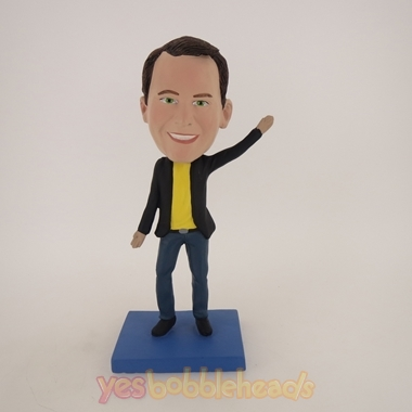 Picture of Custom Bobblehead Doll: Casual Man Dancing
