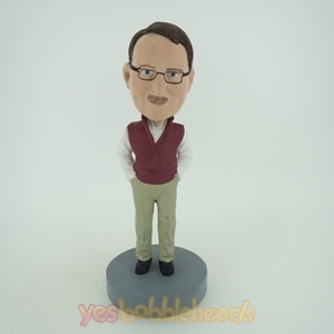 Picture of Custom Bobblehead Doll: Casual Old Man