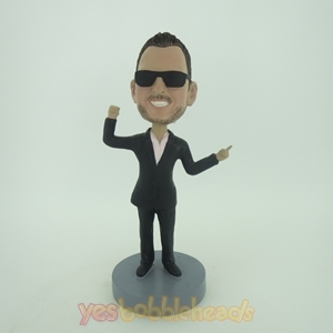 Picture of Custom Bobblehead Doll: Cugar In Black Sunglass