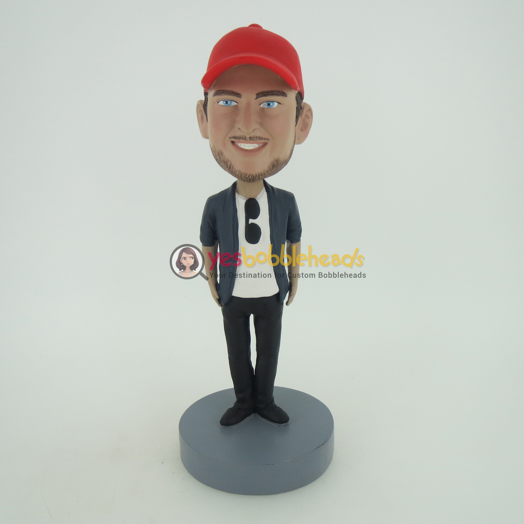 Picture of Custom Bobblehead Doll: Cugar In Red Hat