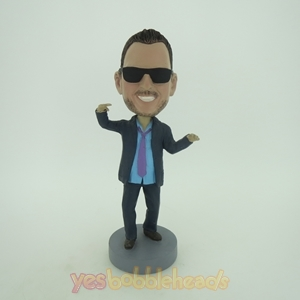 Picture of Custom Bobblehead Doll: Cugar In Sunglass Joking