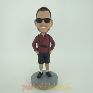 Picture of Custom Bobblehead Doll: Cugar With Beard In Sunglass
