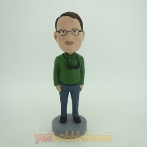 Picture of Custom Bobblehead Doll: Man In Darkgreen