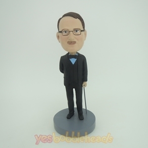 Picture of Custom Bobblehead Doll: Man In Pretty Formal Suit