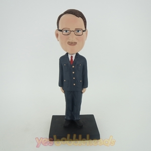 Picture of Custom Bobblehead Doll: Man In Working Suite And Tie
