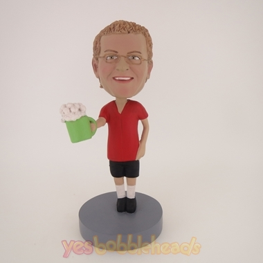 Picture of Custom Bobblehead Doll: Man With A Cup Of Beer
