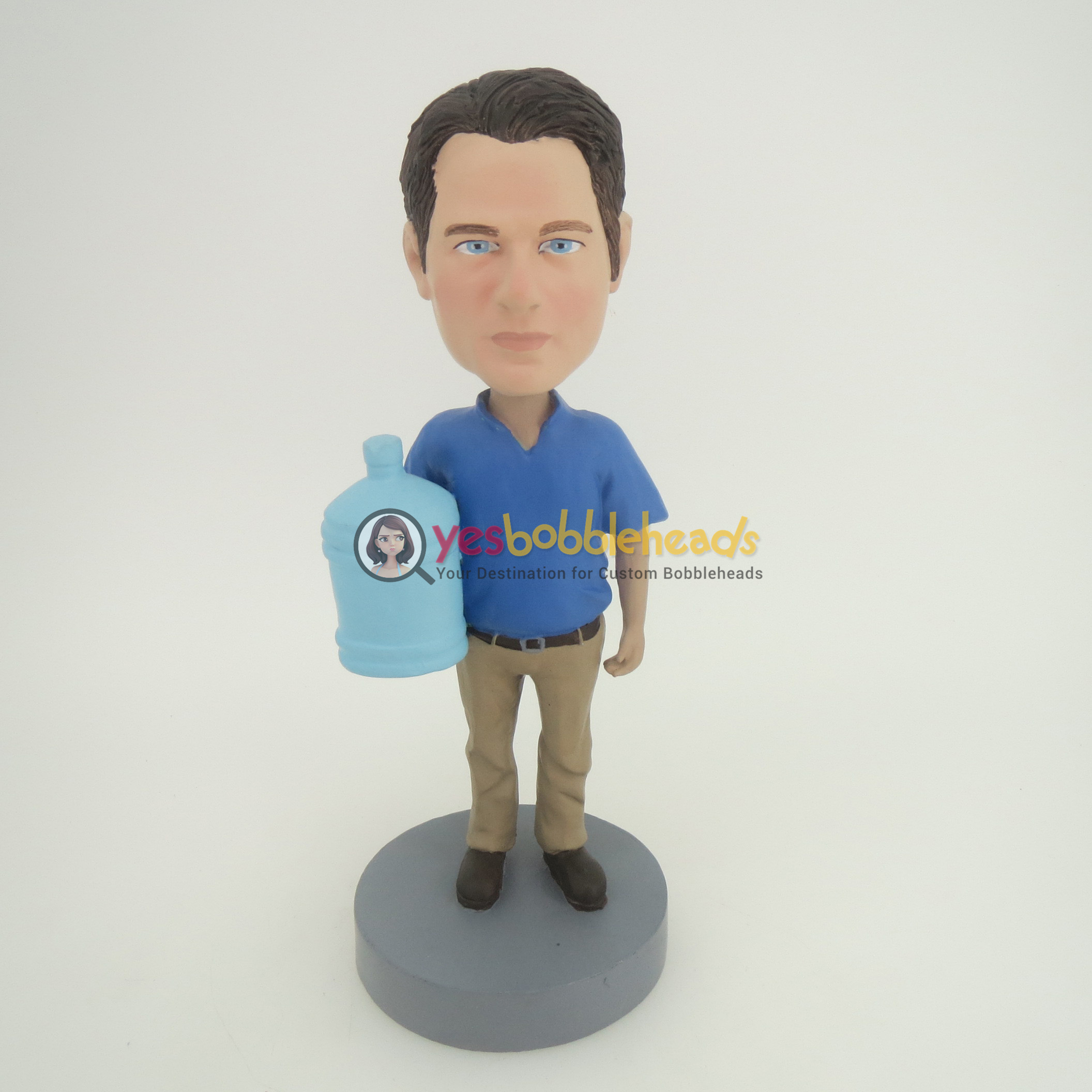 Picture of Custom Bobblehead Doll: Man With Water Bucket