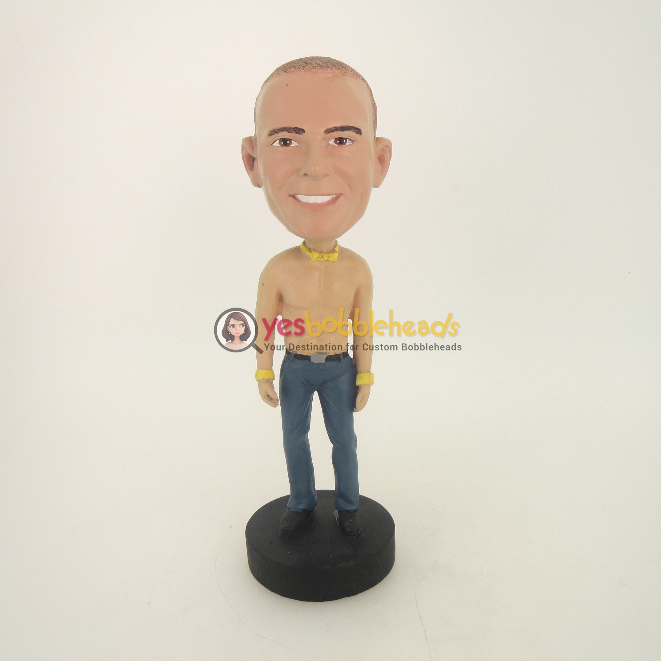 Picture of Custom Bobblehead Doll: Naked Casual Man