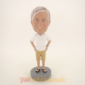 Picture of Custom Bobblehead Doll: Old Casual Man