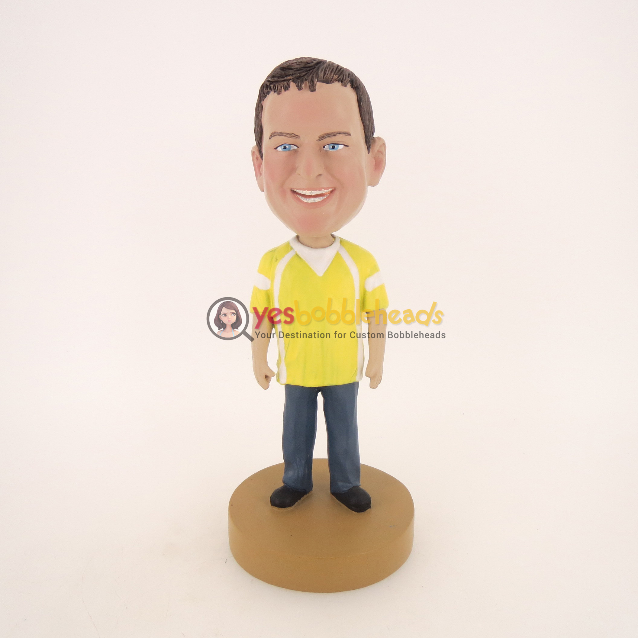 Picture of Custom Bobblehead Doll: Smiling Big Boy