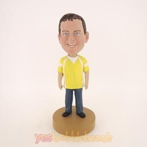Picture of Custom Bobblehead Doll: Smiling Big Boy