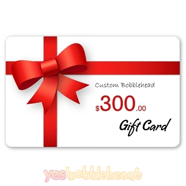 Picture of Custom Bobblehead Doll $300 Gift Card