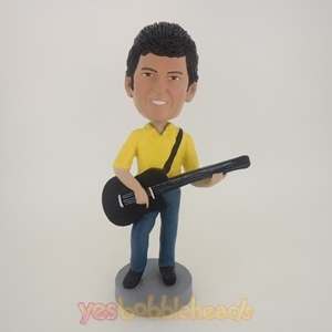 Picture of Custom Bobblehead Doll: Guitar Lover