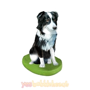 Picture of Custom Bobblehead Doll: Pet Dog Australian Shepherd