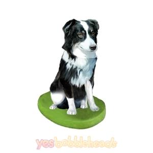 Picture of Custom Bobblehead Doll: Pet Dog Australian Shepherd