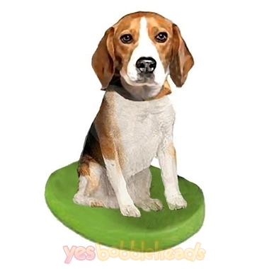 Picture of Custom Bobblehead Doll: Pet Dog Beagle