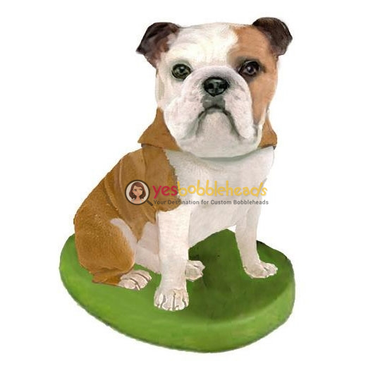 Picture of Custom Bobblehead Doll: Pet Dog Bulldog