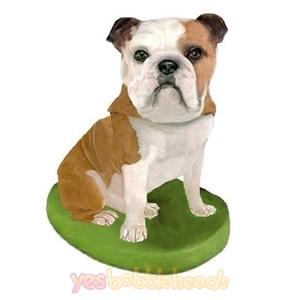 Picture of Custom Bobblehead Doll: Pet Dog Bulldog
