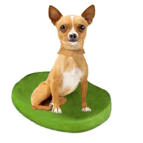 Picture of Custom Bobblehead Doll: Pet Dog Chihuahuas Fawn