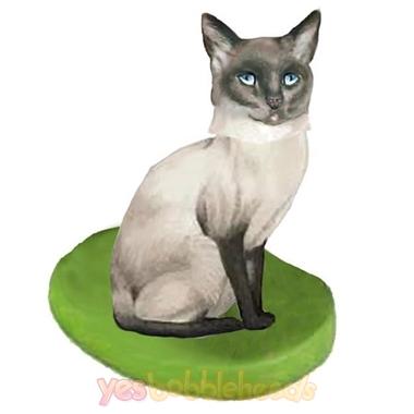 Picture of Custom Bobblehead Doll: Pet Cat Siamese Cat