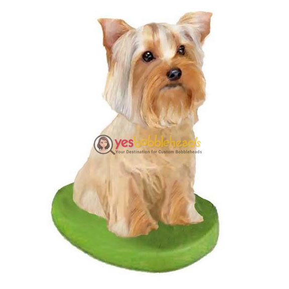 Picture of Custom Bobblehead Doll: Pet Dog Yorkshire Terrier
