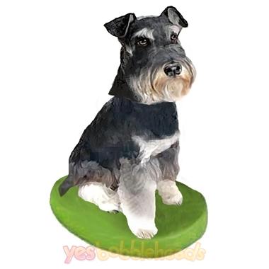 Picture of Custom Bobblehead Doll: Pet Dog Schnauzer Mini