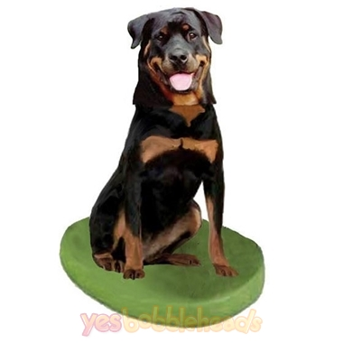 Picture of Custom Bobblehead Doll: Pet Dog Rottweiler