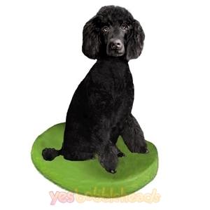 Picture of Custom Bobblehead Doll: Pet Dog Poodle Black