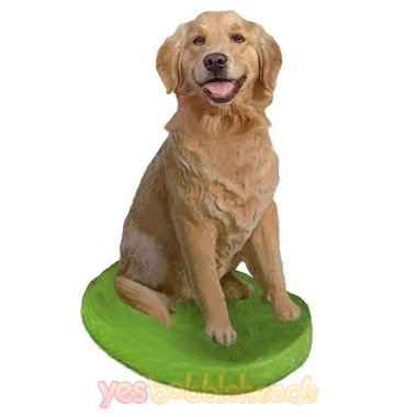 Picture of Custom Bobblehead Doll: Pet Dog Golden Retriever