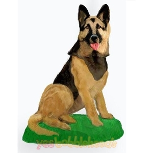 Picture of Custom Bobblehead Doll: Pet Dog German Shepherd