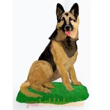 Picture of Custom Bobblehead Doll: Pet Dog German Shepherd