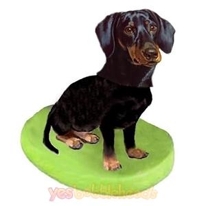 Picture of Custom Bobblehead Doll: Pet Dog Dachshunds Black