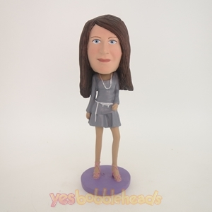 Picture of Custom Bobblehead Doll: Fashionable Woman