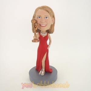 Picture of Custom Bobblehead Doll: Winning Super Star