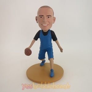 Picture of Custom Bobblehead Doll: Handsome Basketball Player