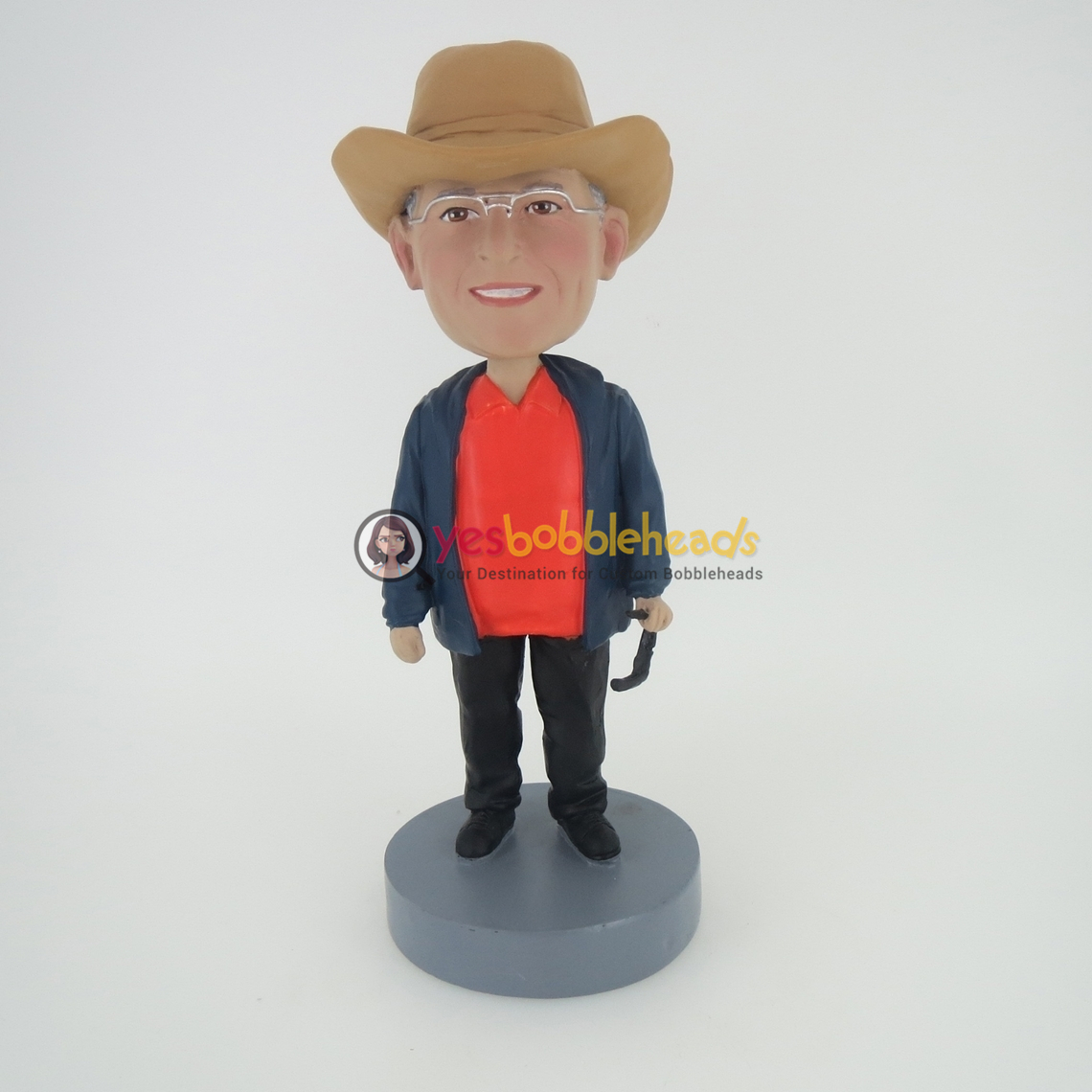 Picture of Custom Bobblehead Doll: Casual Cowboy