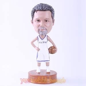 Picture of Custom Bobblehead Doll: Basketball Star