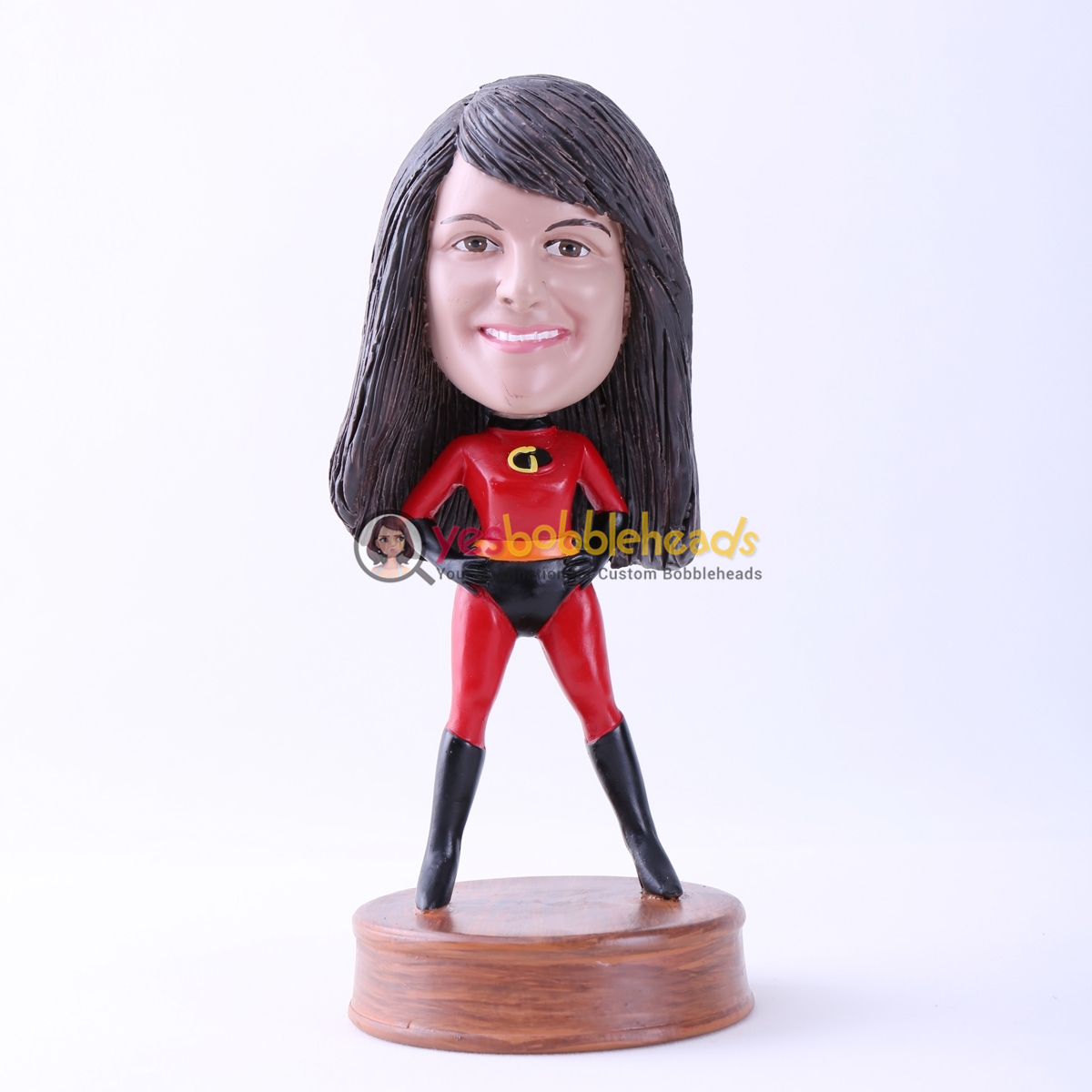 Picture of Custom Bobblehead Doll: The Incredibles Mother