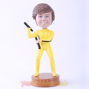 Picture of Custom Bobblehead Doll: Bruce Lee Posture Kid