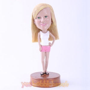 Picture of Custom Bobblehead Doll: Casual Woman