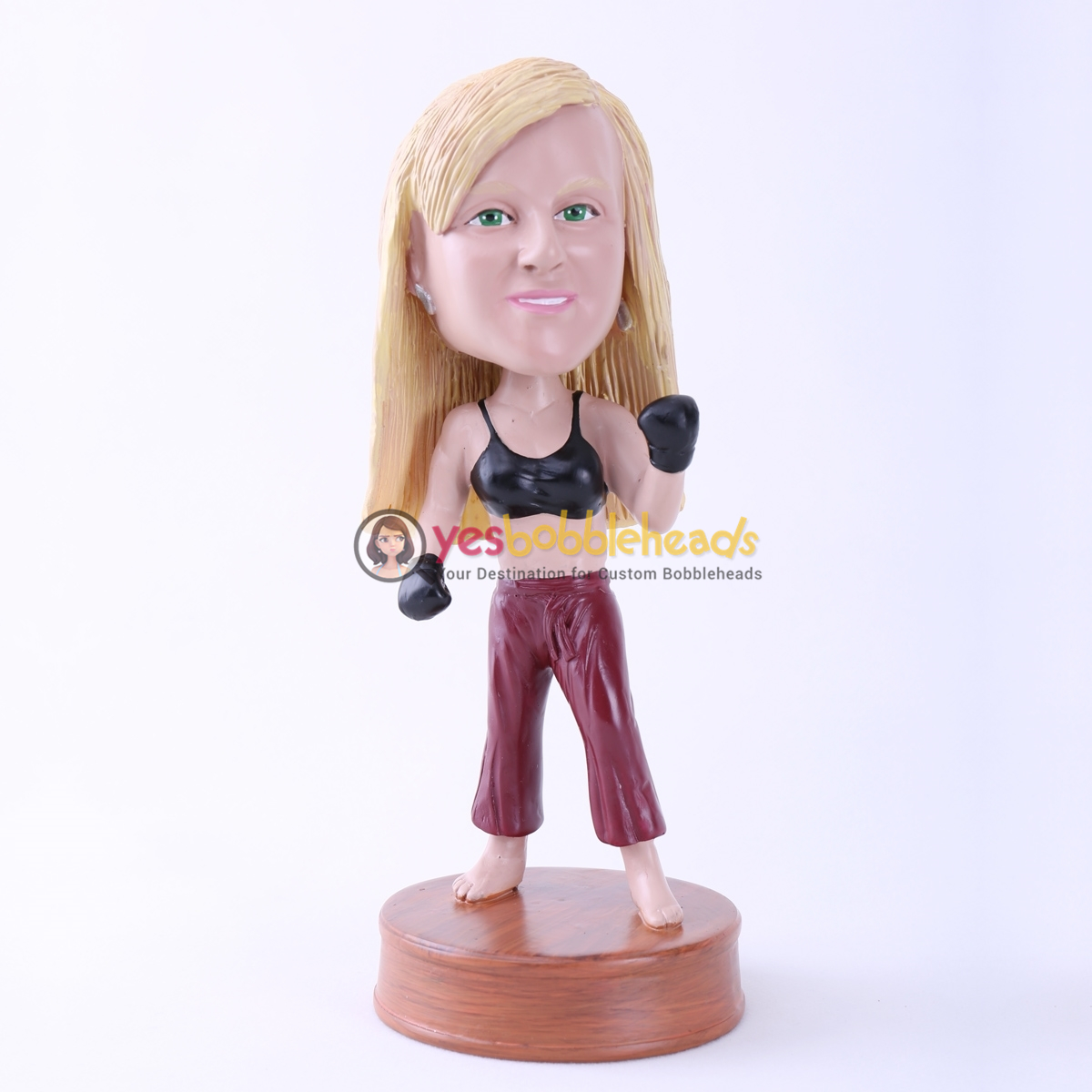 Picture of Custom Bobblehead Doll: Female Boxing