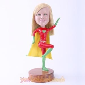 Picture of Custom Bobblehead Doll: Female Superhero