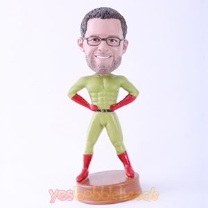 Picture of Custom Bobblehead Doll: Green Skin Superman
