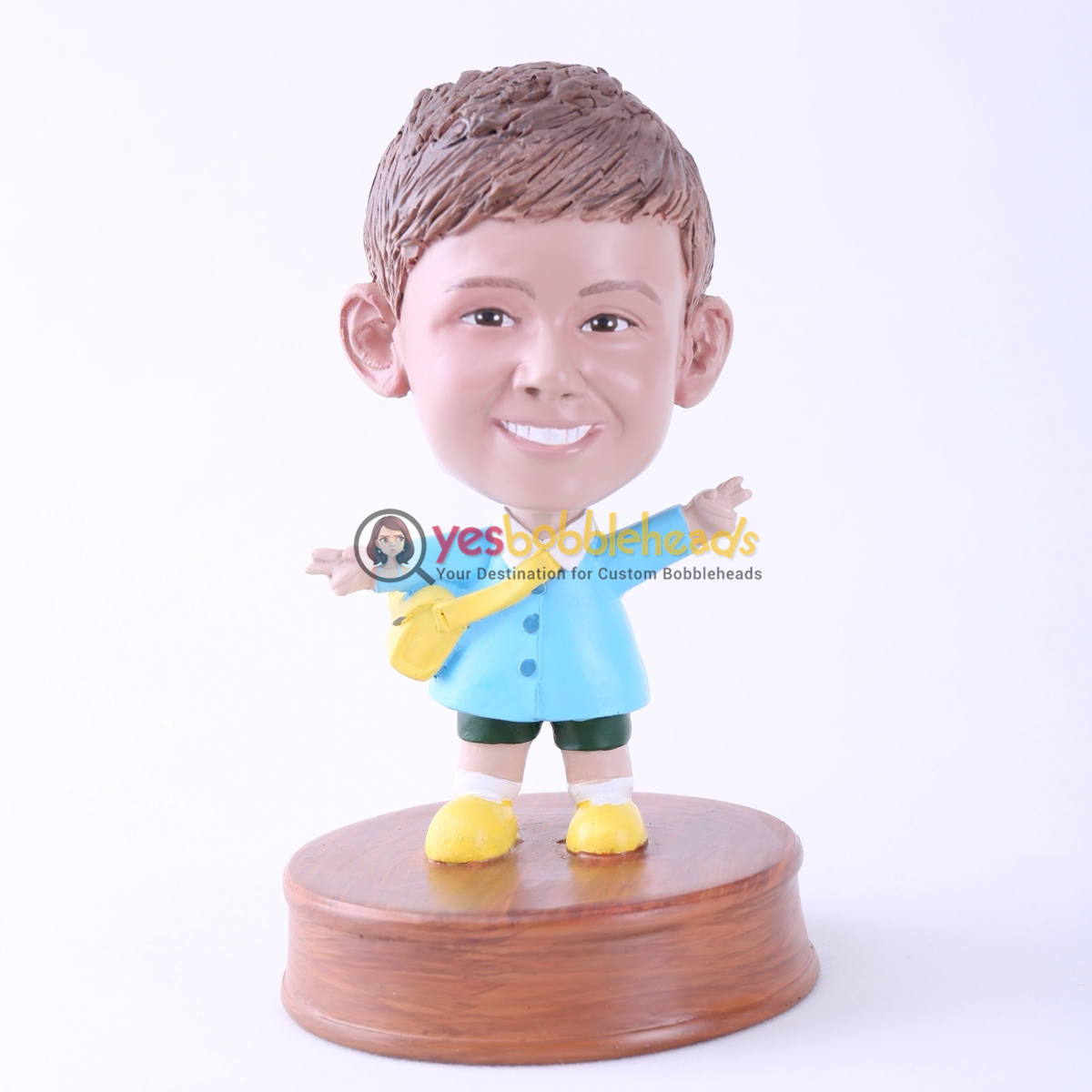 Picture of Custom Bobblehead Doll: Happy Little Boy