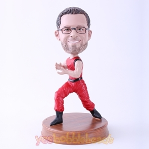Picture of Custom Bobblehead Doll: Kungfu Action Man