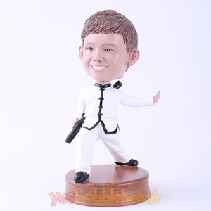 Picture of Custom Bobblehead Doll: Kungfu Boy
