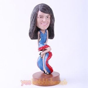 Picture of Custom Bobblehead Doll: Lady in Long Dress